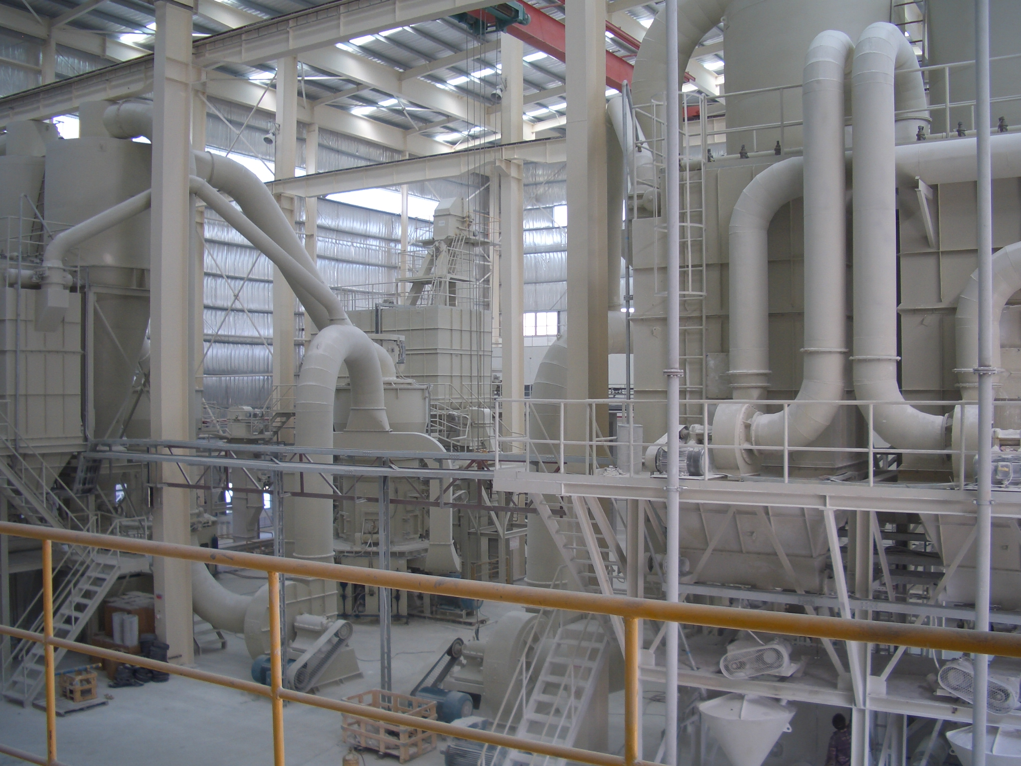 GAW group technologies Dry GCC preparation industrial plants coating 01